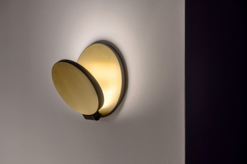 Sconces by Koncept seen at Private Residence, Saint Paul - Gravy Wall Sconce Plug-in