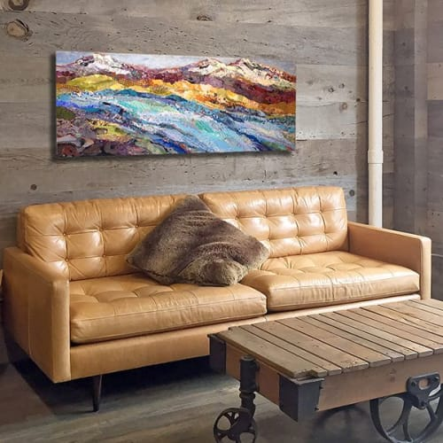 Paintings by Shelli Walters Studio seen at Private Residence, Bend - Plenty Painting