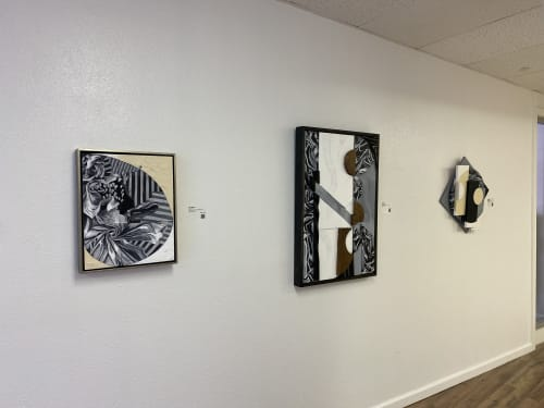 Paintings by Trent Thompson seen at Creator's Studio, Livermore - Ratio