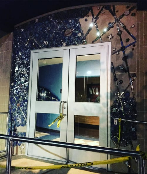Mather Planetarium Mural | Street Murals by Rhoda Kahler | Mather Planetarium in West Chester
