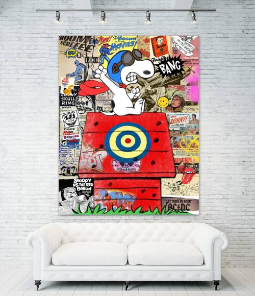 Art Curation by JENNIFER BALCOS GALLERY seen at Creator's Studio, Atlanta - The King of Pop Art