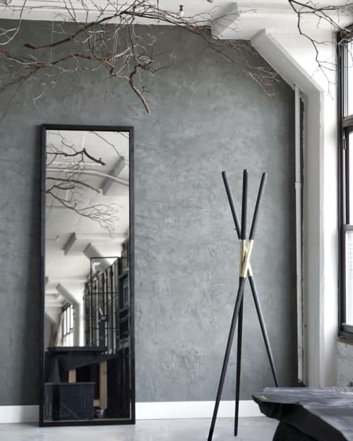 Furniture by Ordinal Indicator seen at Ordinal Indicator Studio, The Bronx - The Hansha Mirror