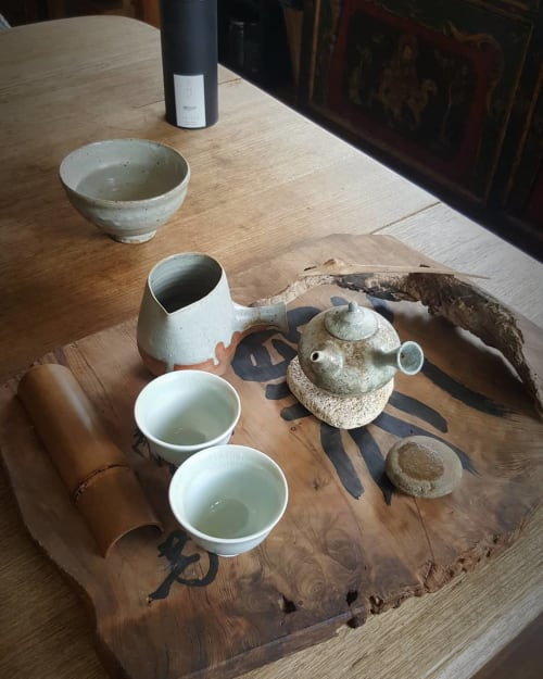 Tableware by Minna Graham seen at Private Residence, Kallista - Ceramic Pitcher