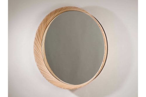 Furniture by INDO- seen at WorkOf Showroom, Brooklyn - Mooda Mirror 24