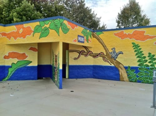 Roger Whiting - Murals and Art