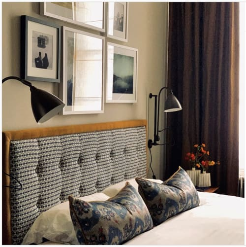 Interior Design by Nadia Attura seen at Private Residence, London - Bergman and Mar