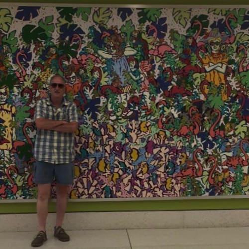 Paintings by Tom Francis seen at Children's Healthcare of Atlanta - Egleston Hospital, Atlanta - Birthday Party