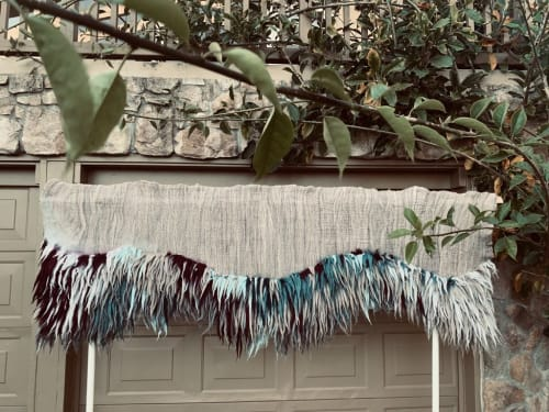 Wall Hangings by Taiana Giefer seen at Private Residence, Santa Barbara - Water Flows