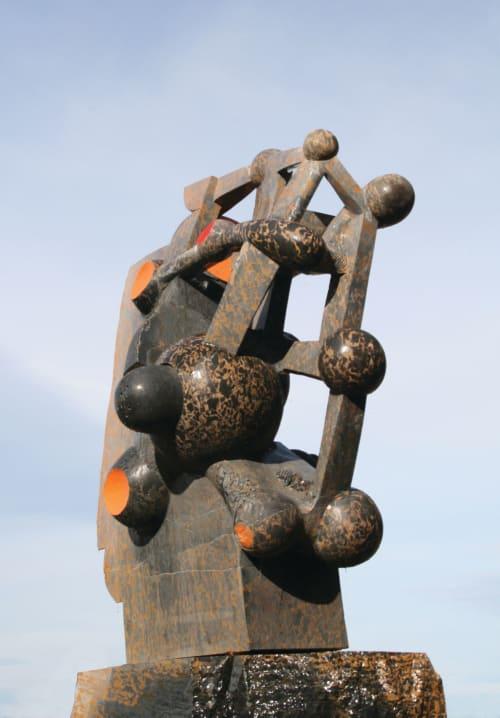 Public Sculptures by Jhon Gogaberishvili seen at Australia - Explosion