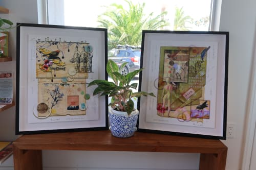 Art & Wall Decor by BRUCE SAMIA art&design at Santa Barbara, Santa Barbara - BLUE SANDS INN