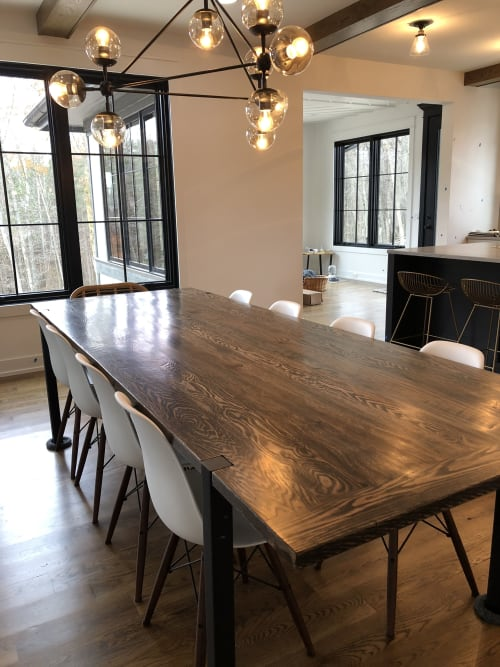 Tables by Reclaimed Theory seen at Private Residence, Ada - Custom Request