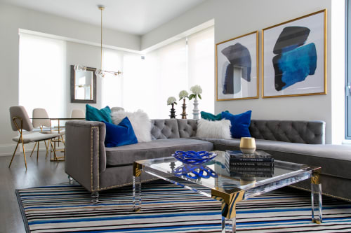 Interior Design by JLA Designs seen at Private Residence, New York - Bold Glamour