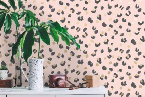 Wallpaper by Fancify Wall Murals & Wallpaper seen at Sydney, Sydney - Amur Pink Wallpaper in Homeware Store