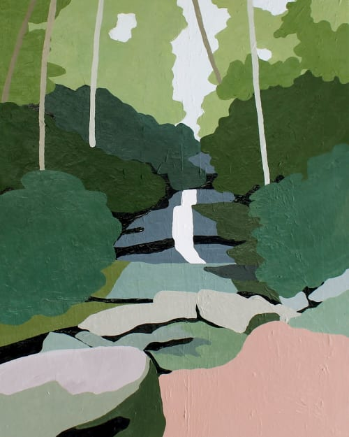 Paintings by Between the Evergreens - Desoto Falls