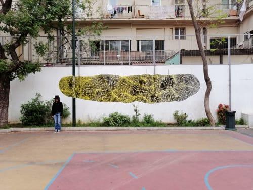 Public Art by Anastasia Papaleonida seen at Athens, Athens - Mural workshop