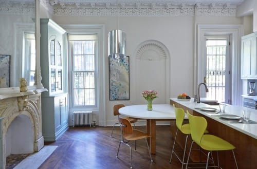 Interior Design by David Kaplan Interior Design, LLC seen at Private Residence, Brooklyn - Brooklyn NY Brownstone