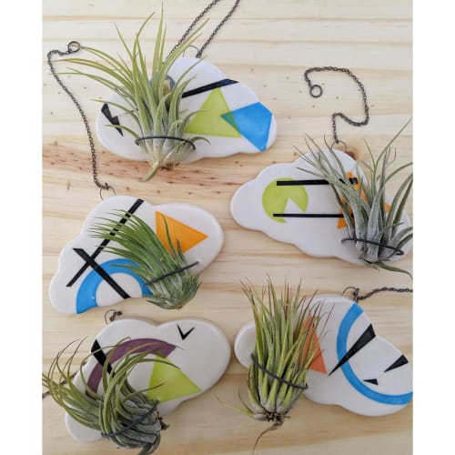 Wall Hangings by Love Studio Ceramics seen at Love Studio Ceramics Studio, Austin - Cloud Air Plant Holder