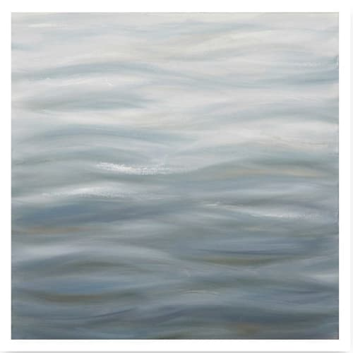 Paintings by TS ModernArt Studio seen at Private Residence, Palm Beach - Water Series