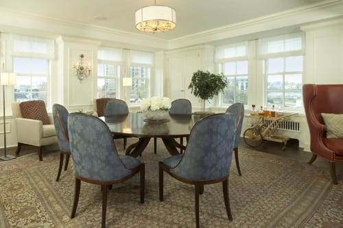 Interior Design by Andrew Flesher Interiors seen at Private Residence, New York - Pre War Pied a Terre