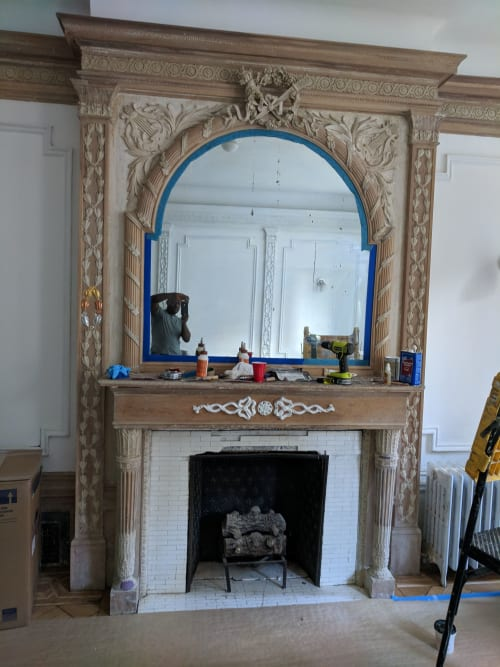 Interior Design by Garry Grant Studio seen at Private Residence, New York, New York - Garry Grant Restoration Project Parlor Floor