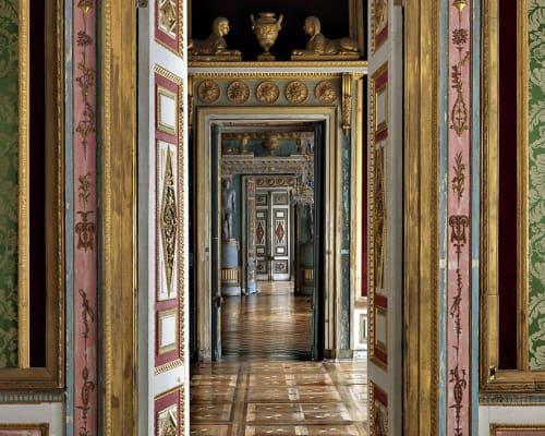 Photography by Massimo Listri seen at Villa La Meridiana, Marina di Pietrasanta - Ostankino Palace I, Mosca 2015