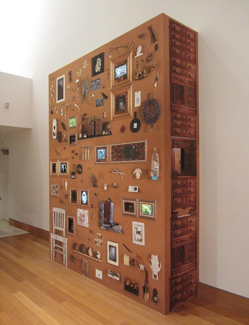 Art & Wall Decor by Kim Abeles seen at Harn Museum, Gainesville - Cabinet of Wondering