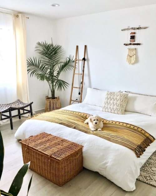 Macrame Wall Hanging by Kaleen Cameron seen at Private Residence, Los Angeles - Macrame Wall Hanging