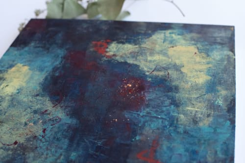 Paintings by Ella Creates seen at Private Residence, Wilmington - Nighttime Views