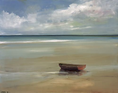 "Art & Wall Decor by YJ Contemporary seen at East Greenwich, East Greenwich - Anne Packard ""On the Beach"""