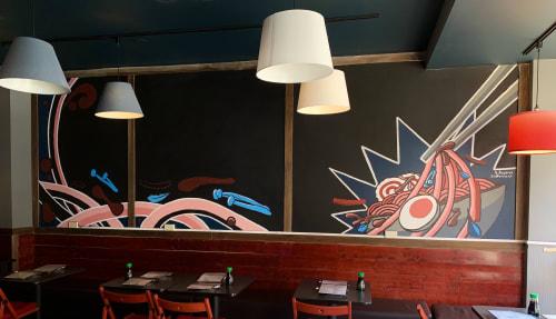 Nathan Baskin - Murals and Art