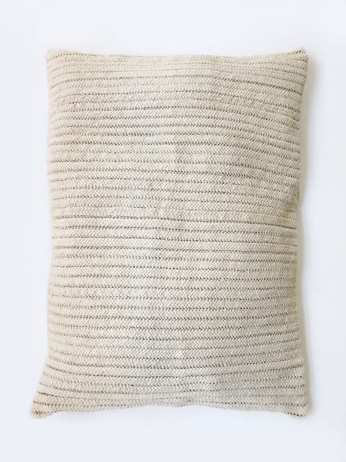 Moroccan Hand-Crafted Bean Bag   Pillows by Coastal Boho Studio