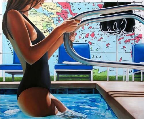 Art Curation by Ryan Jones seen at Hughes Marino, San Diego - Hughes Marino