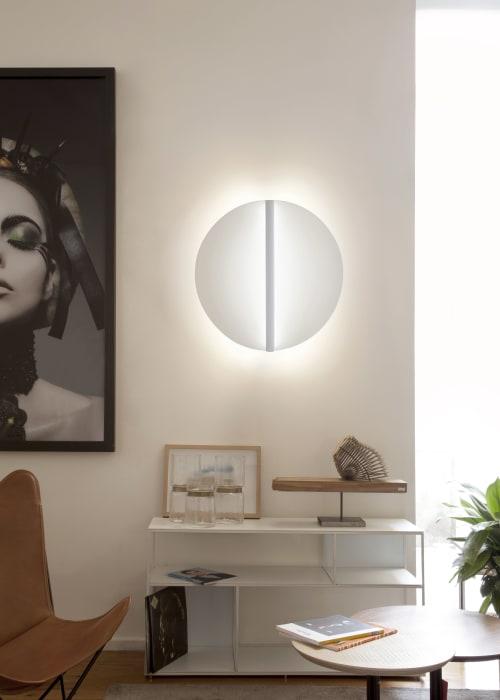 Lamps by Millelumen seen at Private Residence, Frankfurt - millelumen shield