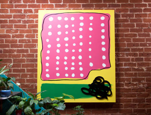 Paintings by ABDA Collective seen at Private Residence, Los Angeles - Untitled (Crowed Pleaser)