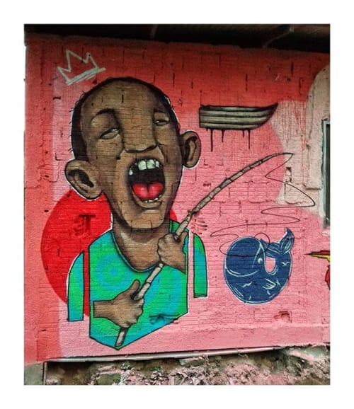 Art Curation by Guimeujoven seen at Joinville - Graffiti