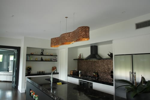 Pendants by James Russ at Private Residence, Auckland - Blackbridge