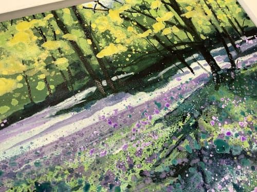 Paintings by Adele Riley Artist seen at Private Residence - Scent of Spring