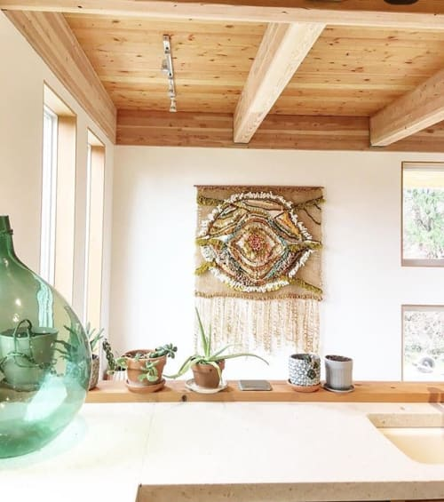 Wall Hangings by Tininha Silva seen at Private Residence, Port Townsend - Wall Hanging
