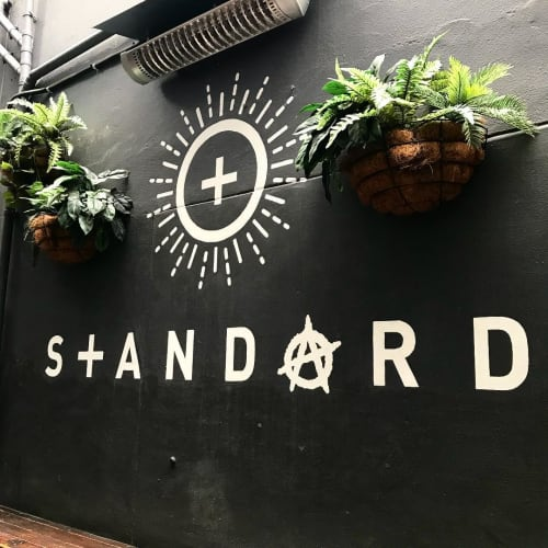Murals by Cape Town Signwriting seen at Harringtons Cocktail Lounge, Cape Town - Standard