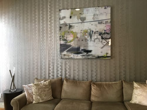 Art Curation by Gregory Watin - KahnGallery seen at Private Residence, New York - In situ views