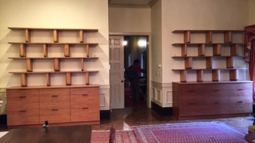 Furniture by Jamie Horgan seen at Isabella Stewart Gardner Museum, Boston - Bookshelves