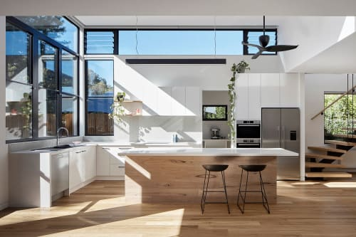 Interior Design by Ben Callery Architects seen at Private Residence, Northcote - Treetop House