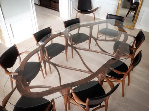 Tables by Ask Emil Skovgaard seen at Private Residence, New York - Cloud Large Dining Table