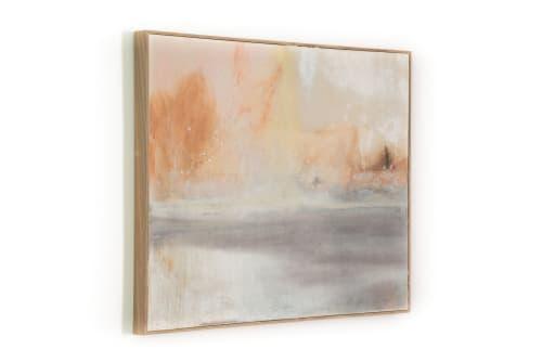 Paintings by El Lovaas seen at Private Residence, Encinitas - June