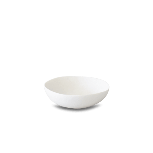 Tableware by Tina Frey seen at Wescover Gallery at West Coast Craft SF 2019, San Francisco - Wide Salad Bowl and Two Color Vegetable Bowl