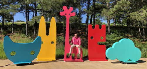 Jeffie Brewer - Public Sculptures and Sculptures