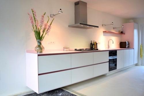 Interior Design by Mischa van der Wekke Vormmaker seen at Private Residence - More custom-made and designed kitchens