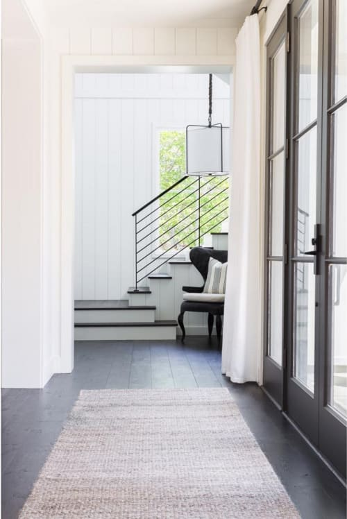 Rugs by l'aviva home seen at Private Residence, San Anselmo - Crin Rug Collection