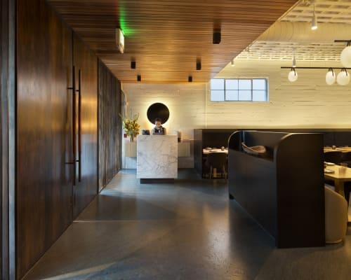 Interior Design by Jamie Bush + Co. seen at Bird Dog, Palo Alto - Interior Design
