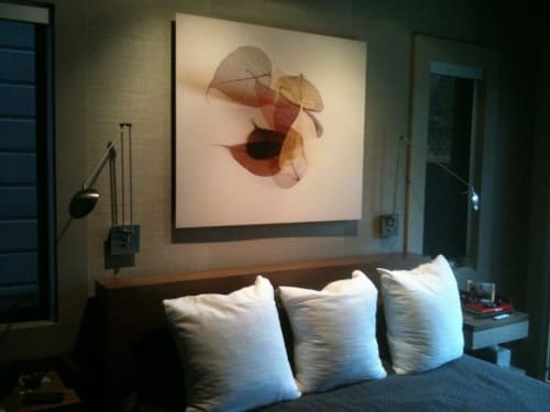 Paintings by Durwood Zedd seen at Private Residence, San Francisco - Sauvignon Blanc